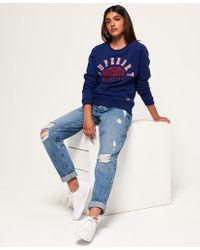 Superdry - Urban Street Applique Sweatshirt - Lyst