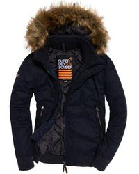 Superdry - Microfibre Sd-wind Bomber Jacket - Lyst