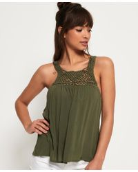 Superdry - Alivia Knoy Tank Top - Lyst