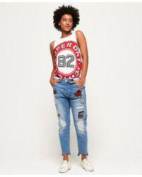 Superdry - Riley Girlfriend Jeans - Lyst