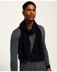 Superdry - Ie Textured Scarf - Lyst