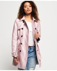 Superdry | Belle Trench Coat | Lyst
