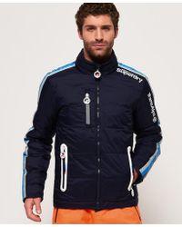 8f40263d4 Tommy Hilfiger X Rossignol Richard Padded Ski Jacket in Blue for Men ...