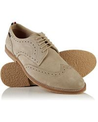Superdry - Ripley Brogue Shoes - Lyst
