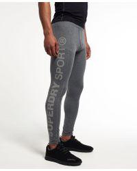 Superdry - Gym Sport Runner Leggings - Lyst