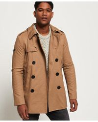Superdry - Remastered Rogue Trench Coat - Lyst