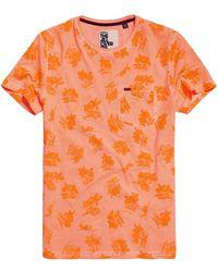 Superdry - Whistler All Over Print Lite T-shirt - Lyst