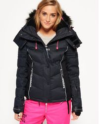 Superdry - Snow Puffer Jacket - Lyst