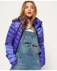 Superdry - Luxe Chevron Fuji Jacket - Lyst