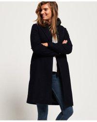 Superdry - Fjola Tech Wool Coat - Lyst