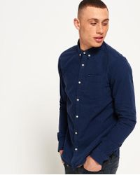 Superdry - Ultimate City Oxford Long Sleeve Shirt - Lyst