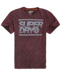 0a5a58967aa Lyst - Superdry Surplus Goods Graphic Pocket T-shirt in Black for Men