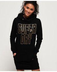 Superdry - Deakin Embellished Sweat Dress - Lyst