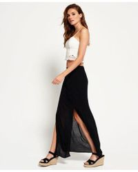 48215dea6a Lyst - Women's Superdry Maxi skirts On Sale