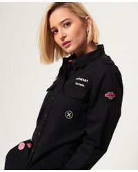 Superdry - Military Shirt - Lyst