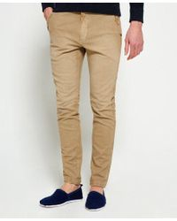 Superdry - Surplus Goods Low Rider Chino Trousers - Lyst