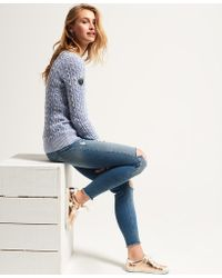 Superdry - Croyde Cable Knit Jumper - Lyst