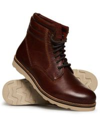 Superdry - Stirling Sleek Boots - Lyst