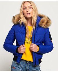 Superdry - Everest Ella Bomber Jacket - Lyst