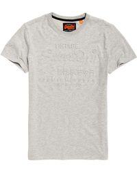 Superdry - Premium Goods Embossed T-shirt - Lyst