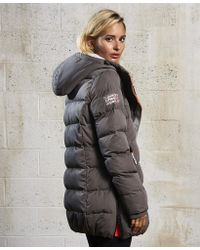 Superdry - Sd-x Superfibre Tall Puffer Jacket - Lyst
