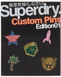 Superdry - Custom Pin Badge Pack - Lyst