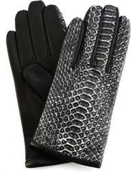 Haider Ackermann - Python Leather Gloves - Lyst