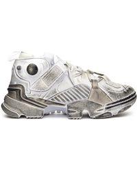 fe750b854c77 Vetements - Reebok Genetically Modified Pump Sneakers - Lyst