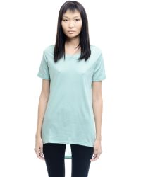 Silent - Damir Doma - Cotton And Silk Top - Lyst