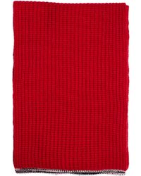 Maison Margiela - Red Cashmere Scarf - Lyst
