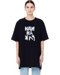 Vetements - Black Printed T-shirt - Lyst
