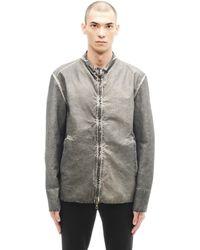 Transit Uomo | Leather Jacket | Lyst