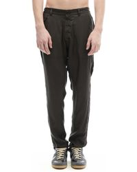 Share Spirit - Tencel And Cupro Trousers - Lyst