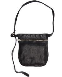Guidi - Leather Zipped Waist Bag - Lyst