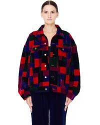 Ashish - Multicolor Patchwork Jacket - Lyst