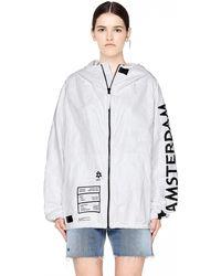 Ueg - Amsterdam Printed Tyvek Jacket - Lyst