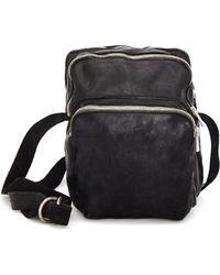 Guidi - Cross-body Messenger Leather Bag - Lyst
