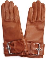 Balenciaga   Leather Goves   Lyst
