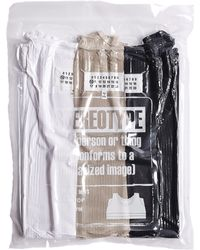 Maison Margiela - 3 Cotton Tank-tops Pack - Lyst