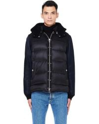 Undercover - Black Hooded Down Jacket - Lyst