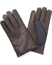 Maison Margiela - Leather Gloves - Lyst
