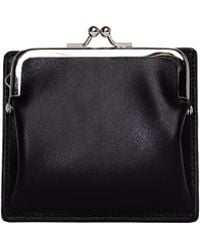 Yohji Yamamoto - Leather Card Holder And Coin Purse - Lyst