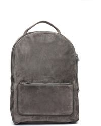 Yeezy - Basic Grey Suede Backpack - Lyst