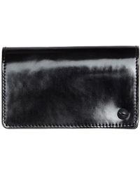 Yohji Yamamoto | Polished Leather Card Holder | Lyst