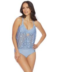 Luxe by Lisa Vogel - Aphrodite One Piece With Bra - Lyst