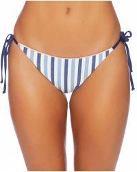 Splendid - Tie Dye Stripe Reversible Tie Side Bottom - Lyst