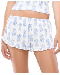 Spiritual Gangster - Pineapple Batik Shorts - Lyst