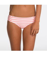 Bikini Lab - Striped Bow-back Cheeky Hipster - Lyst
