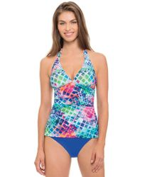 Gottex - Song Bird Clean Finish High Waist Swim Bottom - Lyst