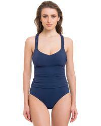Gottex - Java Round Neck One Piece Swimsuit - Lyst